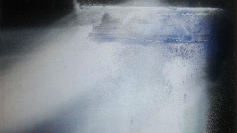 Exposición pintura abstracta David Saborido del 1 al 14 de julio